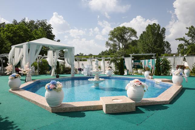 комплекс барото декоративен басейн